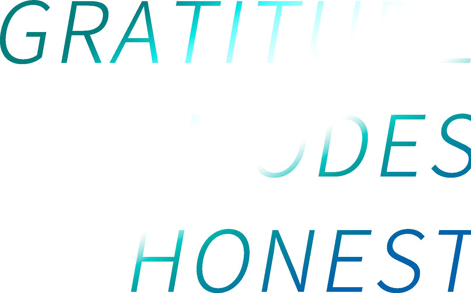 GRATITUDE MODES HONEST