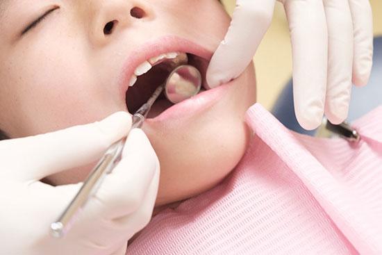 五反田駅前歯医者 小児歯科 定期検診と治療