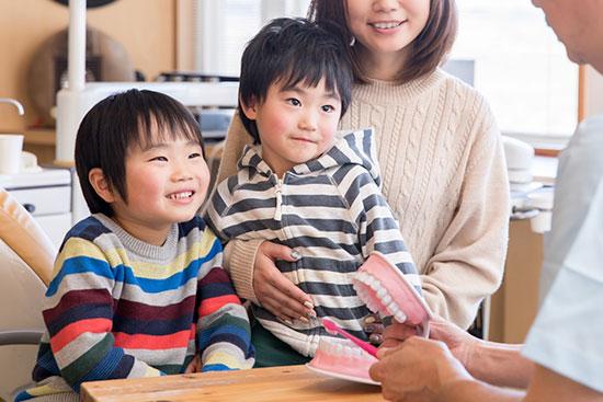 五反田駅前歯医者 小児歯科 お子様にも正しい知識を伝えてあげる
