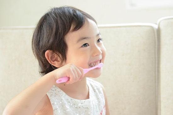 五反田駅前歯医者 小児歯科 楽しく歯磨き